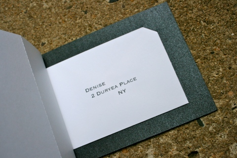 RSVP Card Envelope Holder
